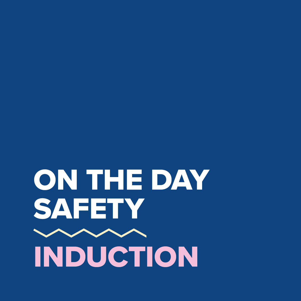 MDC2021_On The Day Safety Induction