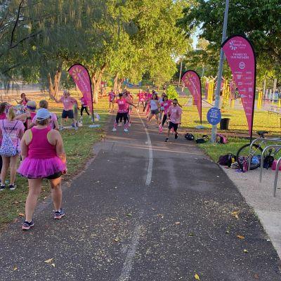 Cancer fun run in Darwin, NT