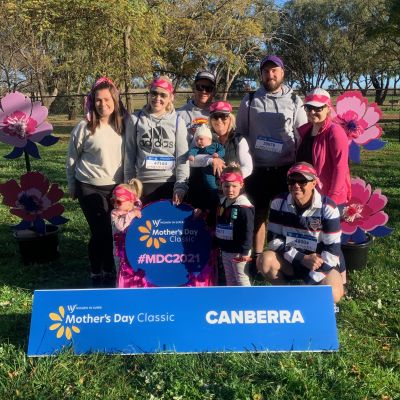 Charity run for breast cancer research in Canberra, ACT