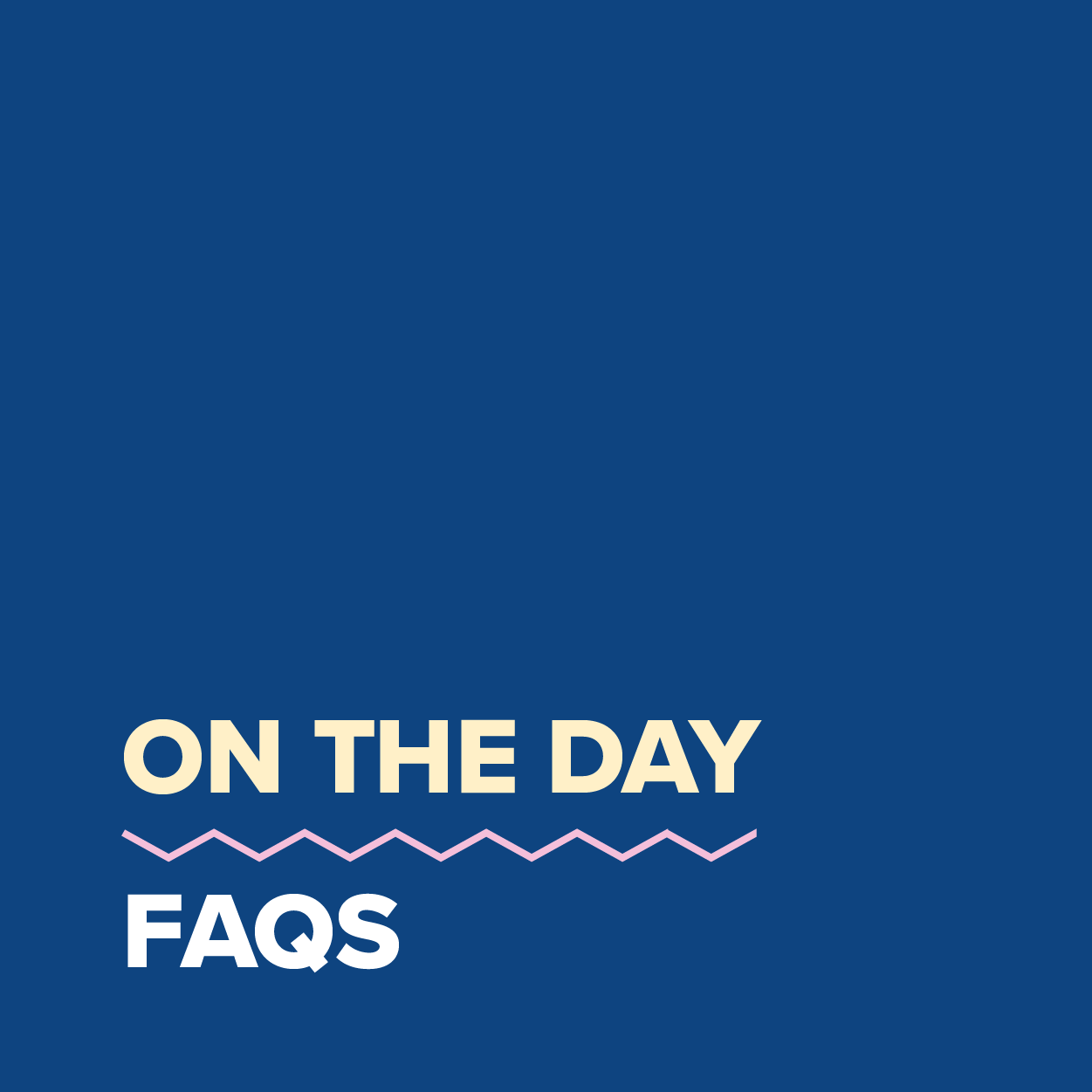 MDC2021_On The Day FAQs