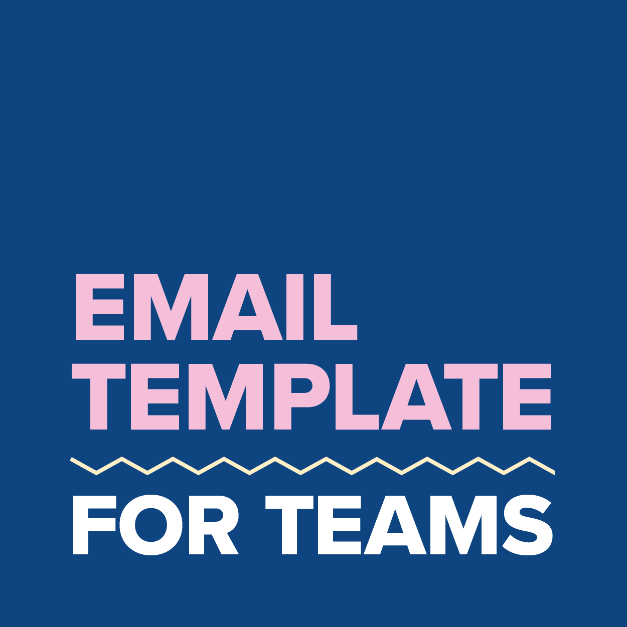 Email Template - Teams